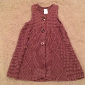 Gymboree girls sweater vest